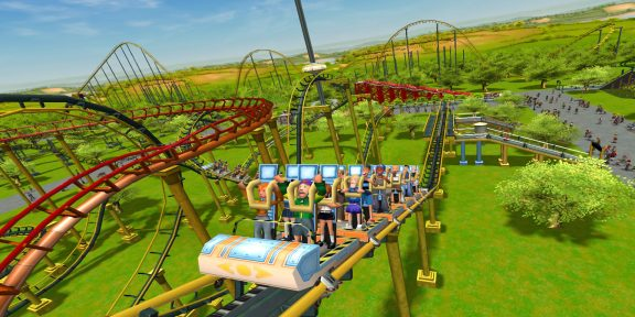 Epic Games Store раздаёт симулятор парка развлечений RollerCoaster Tycoon 3