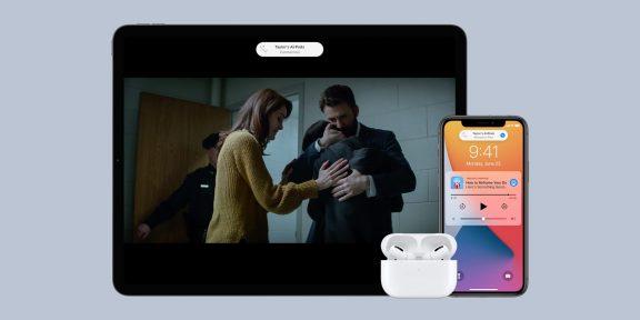 Как в iOS 14 отключить автоматическое переключение AirPods с iPhone на iPad