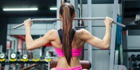 Как делать тягу верхнего блока, чтобы накачать спину и не повредить плечи