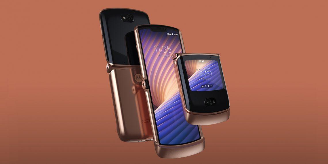 Motorola представила Android-раскладушку Razr 5G