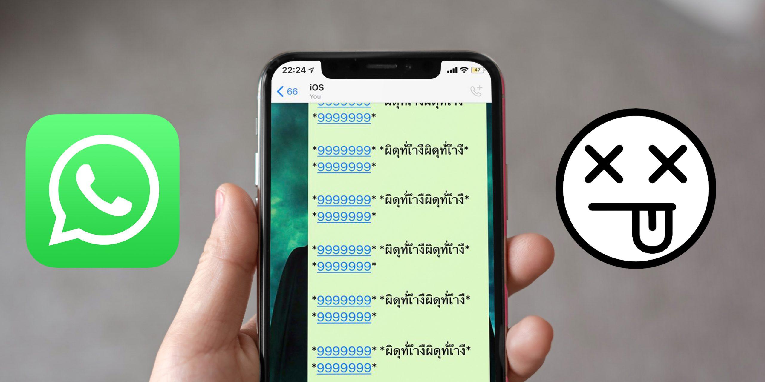 whatsapp баг