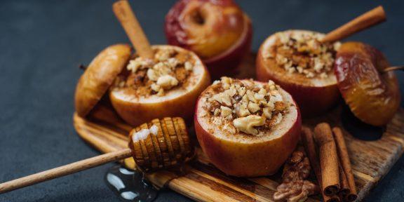 Идеальный осенний десерт. Как приготовить запечённые яблоки