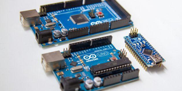 Arduino Uno, Arduino Mega и Arduino Nano
