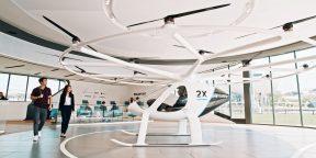 Немецкий стартап Volocopter раскрыл, сколько будет стоить полёт на воздушном такси