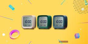Надо брать: умный будильник Xiaomi с термометром и гигрометром