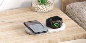 Надо брать: универсальная беспроводная зарядка Baseus для смартфона и Apple Watch