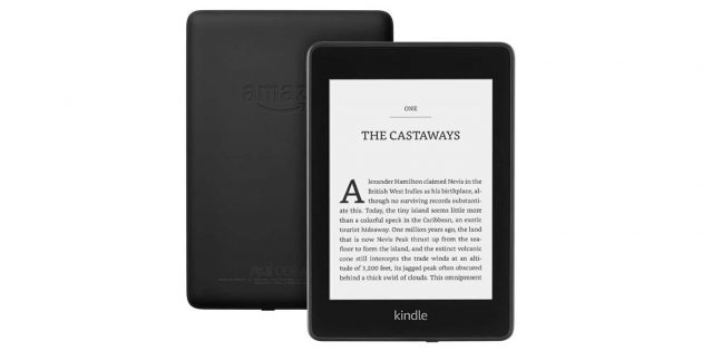 Гаджеты в подарок на Новый год: Kindle Paperwhite 2020