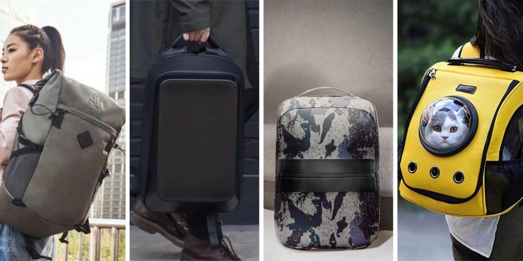 10 крутых рюкзаков от Xiaomi и её партнёров с AliExpress