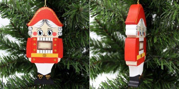 Новогодние украшения в ретростиле для тех, кто ностальгирует: Щелкунчик