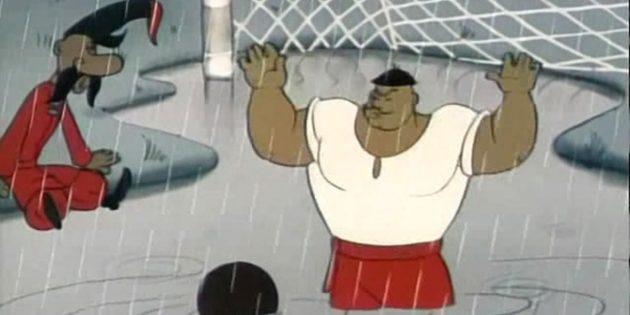 Советские мультфильмы для детей: «Как казаки в футбол играли»