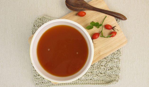 Скандинавский суп из шиповника