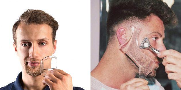 Шаблон для бороды