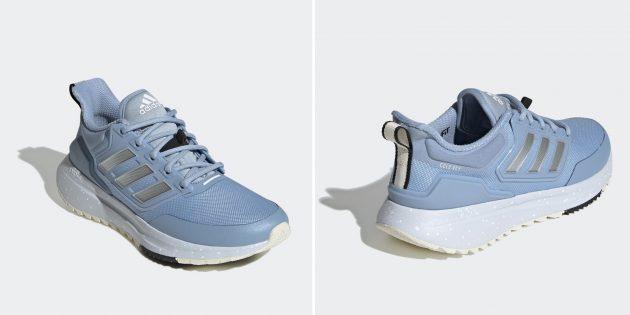 Утеплённые кроссовки Adidas EQ21 COLD.RDY
