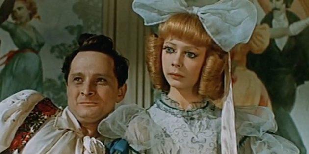 Кадр из советского фильма-сказки «Три толстяка»