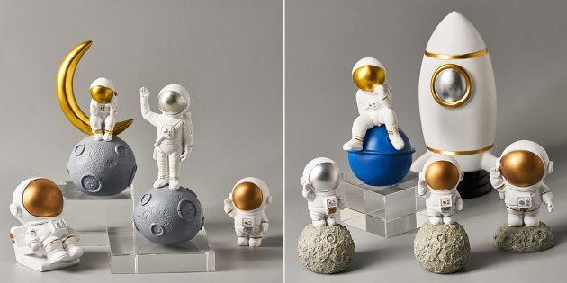 Фигурки астронавтов