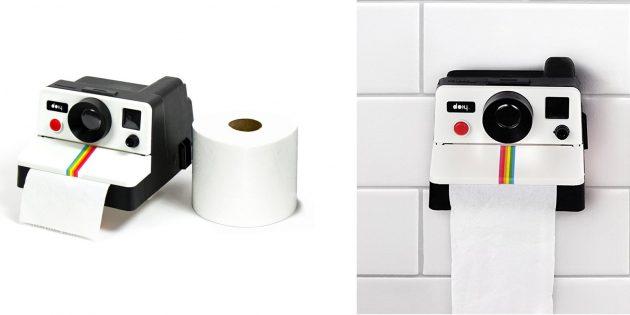 забавные товары для дома: держатель для туалетной бумаги
