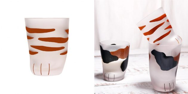 забавные товары для дома: стаканы-лапки
