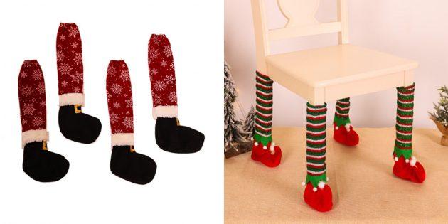 Забавные чехлы для ножек стульев