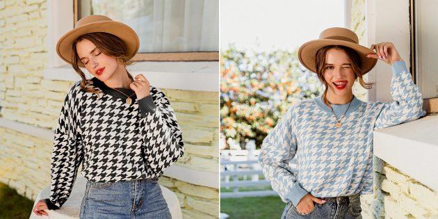 Распродажа 11.11 на AliExpress: свитер