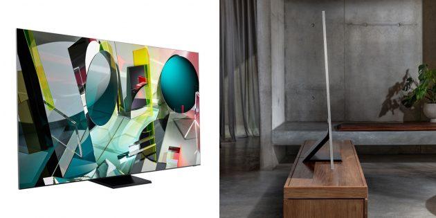 Очень дорогие вещи: телевизор Samsung
