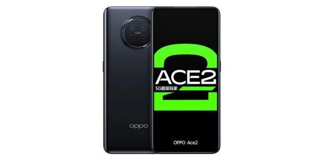 мощные смартфоны: OPPO Reno Ace2
