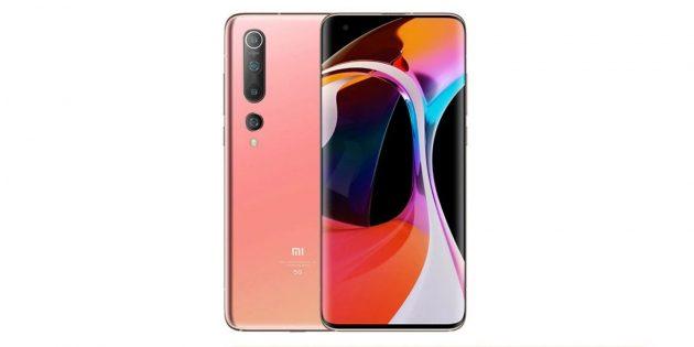 мощные смартфоны: Xiaomi Mi 10