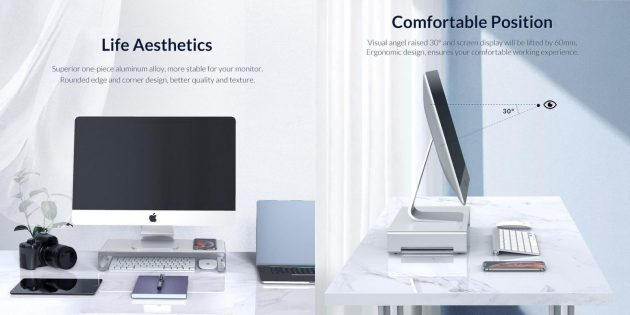 Товары ORICO: подставка для Mac