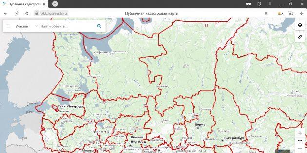 Земельный налог: найдите свой участок на публичной карте Росреестра