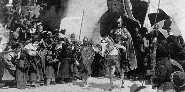 Фильмы про рыцарей: «Александр Невский»