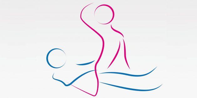 Секс после 50лет: поза обратной наездницы