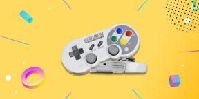 Надо брать: универсальный беспроводной геймпад 8BitDo в ретро-стиле
