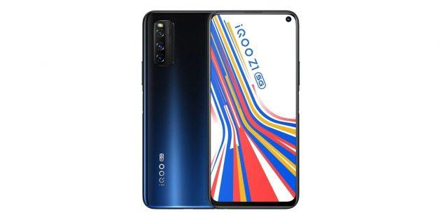 мощные смартфоны: Vivo iQOO Z1