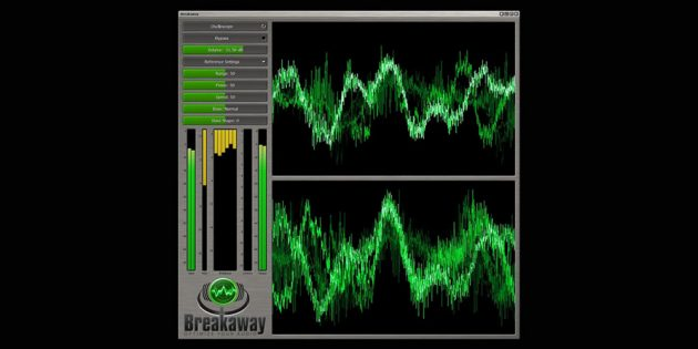 Эквалайзеры для Windows 10: Breakaway Audio Enhancer