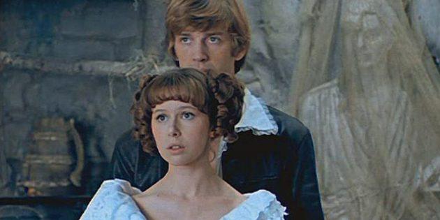 Кадр из советского фильма-сказки «Обыкновенное чудо»