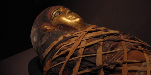 Мумия из Мемориальной картинной галереи в Рочестере, штат Нью-Йорк