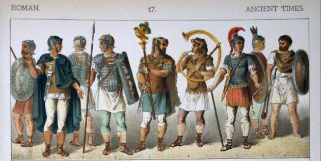 Заблуждения о Древнем Риме: воины не носили красную одежду