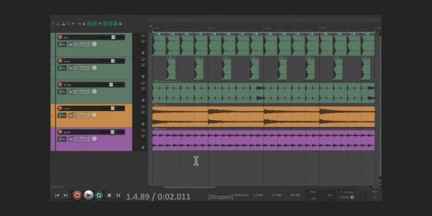 Лучшие редакторы музыки: Reaper