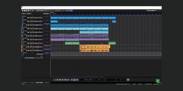 Лучшие программы для создания музыки: Mixcraft