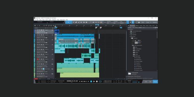 Лучшие программы для создания музыки: Presonus Studio One