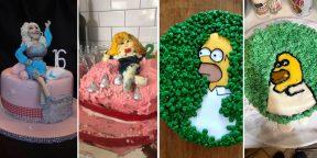 Ожидание против реальности: 15 неудачных попыток приготовить торт