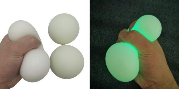 Светящаяся игрушка-антистресс