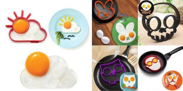 Забавные формы для яичницы