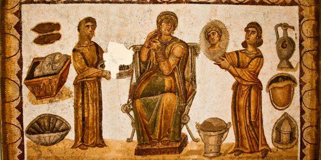 Римские рабыни и их хозяйка