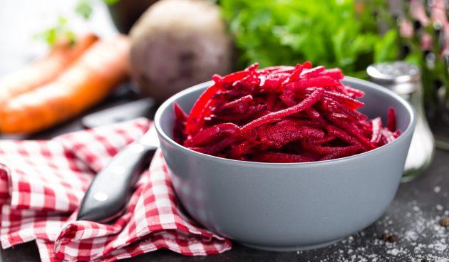 Салат из моркови и свёклы на зиму