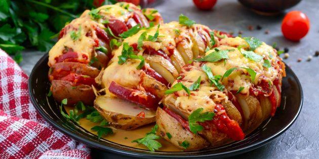 У вас попросят рецепт. Классные способы приготовить фаршированный картофель