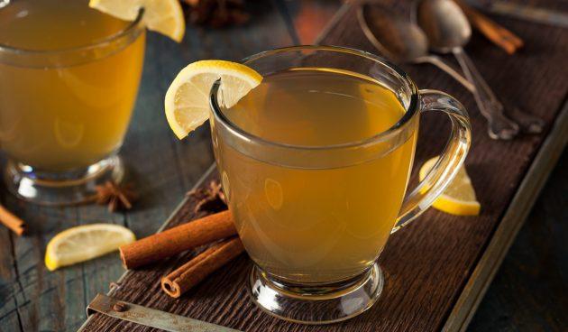Безалкогольный пунш из яблочного сока