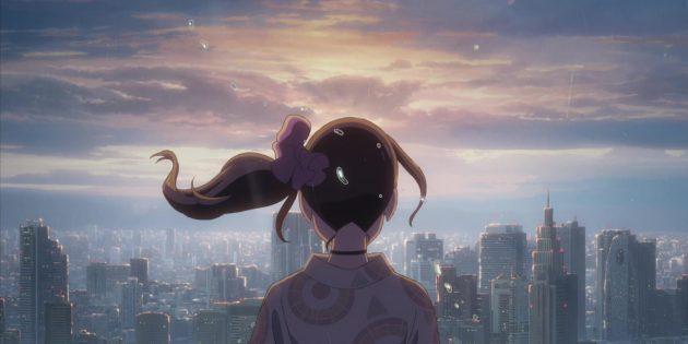 Кадр из аниме «Дитя погоды»