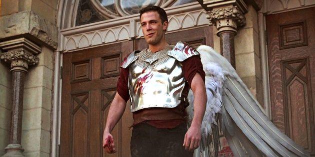 Кадр из фильма про ангелов «Догма»