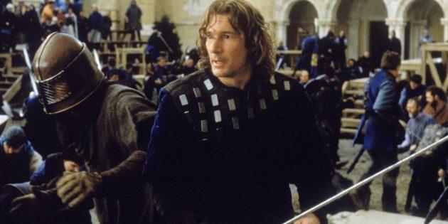 Фильмы про рыцарей: «Первый рыцарь»