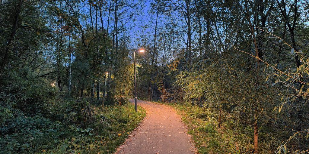 При свете фонарей фото получаются приличными